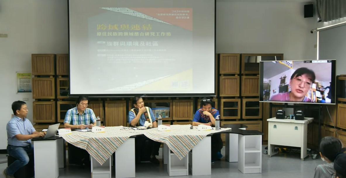From left to right:Kui Kasirisir、Jai-Chyi Pei、Jong-Yong Pu、Yung-Ching Lo and Apu'u Kaaviana